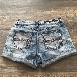 😊2/25 Indigo Rein jean shorts